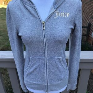 Juicy Couture Zip Up Hoodie. Size Medium